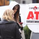 Mischa Barton - At An ATM Machine Before Heading To Equinox Fitness Club In Soho, 2009-10-28