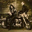 Paul Simonon and Tricia Ronane