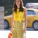 "Leighton Meester Kicks Off New Season of ""Gossip Girl"""
