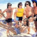 Richie Sambora, Jon Bon Jovi, Tico Torres, David Bryan and Alec Jon Such