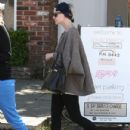 Ashlee Simpson was out and about with her friend in Los Angeles, California on March 21, 2012