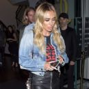 Petra Ecclestone at Craig's in West Hollywood - 454 x 565