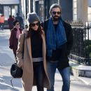 Abigail Spencer with her new boyfriend – Out in Paris - 454 x 679