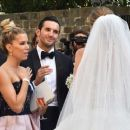 Sylvie Meis at Victoria Swarovski wedding in the San Giusto church in Trieste - 454 x 375