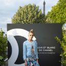 Stella Maxwell – Noir et Blanc de Chanel FW 2019 Makeup Collection in Paris