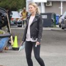 Jennifer Morrison on the set of 'Once Upon A Time' in Vancouver - 454 x 575