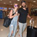 Nicky Whelan – Arrives in San Juan - 454 x 530