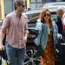 Aubrey Plaza out in NYC