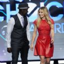 Kristen Bell and Don Cheadle At The 38th Annual People's Choice Awards (2012) - 409 x 594