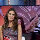 Alessandra Ambrosio attends 'El Hormiguero' TV show at Vertice Studio on September 10, 2014 in Madrid, Spain