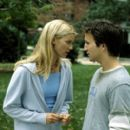 Beth (Amy Smart) and Josh (Breckin Meyer) share a mutual attraction, even though Josh is in a committed relationship in Dreamworks' comedy Road Trip - - 400 x 266