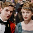 Dan Stevens and Zoe Boyle