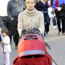 Jaime Pressly Out With Family In LA, December 23 2009