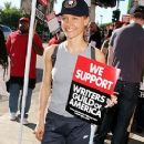 KaDee Strickland Diverse Writers And Actors Support WGA Strike 2007