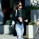 Dakota Johnson in Ripped Jeans – Out in West Hollywood - 454 x 681