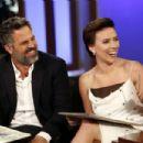 Scarlett Johansson at Jimmy Kimmel Live! in Los Angeles