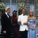 Christopher Walken, Grace Jones, Tanya Roberts, Roger Moore