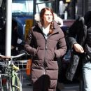 Shailene Woodley on the set of 'The Amazing Spider-Man 2 (March 4)