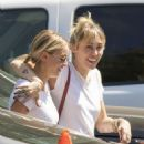 Miley Cyrus and Kaitlynn Carter were seen getting lunch in Los Angeles