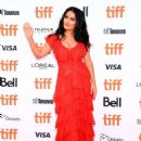 Salma Hayek – 'The Hummingbird Project' Premiere – 2018 Toronto International Film Festival - 454 x 608
