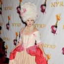 Debra Messing: 17th Annual NYRP Hulaween Benefit Gala at the Waldorf Astoria Hotel in NYC