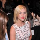 Actress Brittany Snow attends the Carolina Herrera fashion show during Mercedes-Benz Fashion Week Spring 2014 at The Theatre at Lincoln Center on September 9, 2013 in New York City
