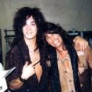 Nikki Sixx & Steven Tyler