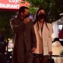 Katie Holmes – Out for a late night dinner in New York