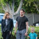 Kate Mara and Jamie Bell have a bowling date in Los Angeles - 454 x 681