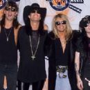 Motley Crue at the 1990 MTV Awards - 454 x 320