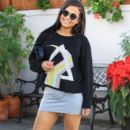 Christina Milian  out to lunch with friends at Il Pastaio in Beverly Hills, California on January 11, 2017 - 392 x 600
