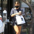 Ashley Tisdale – Outside Joan' on Third in Studio City
