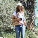 Cindy Crawford at Soho House in Malibu