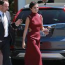 Selena Gomez at David Henrie and Maria Cahill's Wedding in Los Angeles