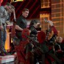 Zac Efron onstage during the 2016 MTV Movie Awards at Warner Bros. Studios on April 9, 2016 in Burbank, California