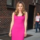 Alicia Silverstone – Seen At Late Show with Stephen Colbert in New York - 454 x 804