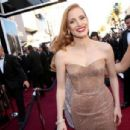 Jessica Chastain At The 85th Annual Academy Awards (2013)