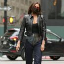 Irina Shayk – Steps out in New York