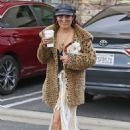 Vanessa Hudgens at Starbucks in Los Angeles