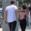 Emma Roberts and Garrett Hedlund – Leaves the gym in Los Angeles