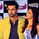 Ranbir Kapoor and Deepika Padukone : Close-up press conference to promote the the upcoming film 'Yeh Jawaani Hai Deewani' - 454 x 364