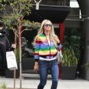 Paris Hilton is Spotted Out Shopping in Beverly Hills