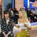 Ali Larter and Milla Jovovich – Good Morning America in New York January 28, 2017 - 454 x 322