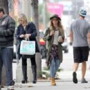 Ashley Tisdale Out Shopping In West Hollywood