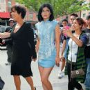 Kylie Jenner Leaving Her Hotel In New York