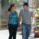 Jennifer Love Hewitt And Ross McCall Walk On The Streets Of Burbank, June 28 2008 - 454 x 606