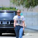 Ashlee Simpson – Out Shopping in Studio City