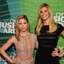 Actress Brittany Snow attends the 2015 CMT Music Awards Press Preview Day at the Bridgestone Arena on June 9, 2015 in Nashville, Tennessee