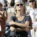 Brooklyn Decker - Watching Andy Roddick Play Tennis At The US Tennis Open - August 30, 2010