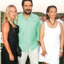 Bulent Inal and Melis Tüysüz with Serap Aksoy
